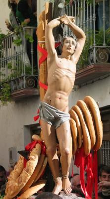 La Fiesta del pan, de Lubrin compite en Internet por estar entre las siete mejores fiestas de España
