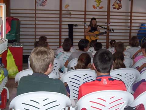 Diputación organiza un Cuentacuentos para 40 alumnos del CEIP San Sebastián de Lubrín