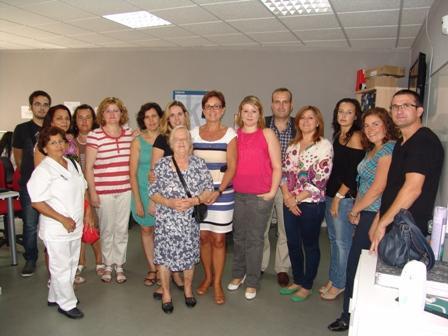 El centro Guadalinfo de Lubrín recibe a la delegada de Economía, Innovación, Ciencia y Empleo