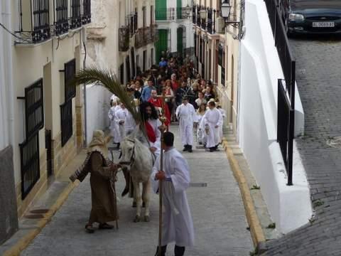 Lubrín encenderá las antorchas por primera vez en su Vía Crucis de Semana Santa